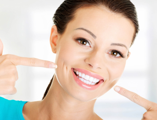 White smile should also be a healthy one.